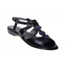 Damskie skórzane sandały sandałki