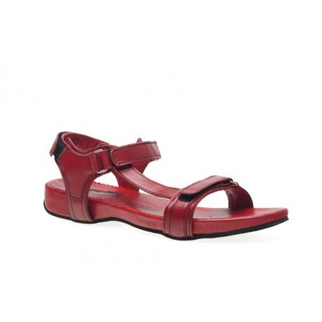Damskie sandały letnie sandałki ze skóry