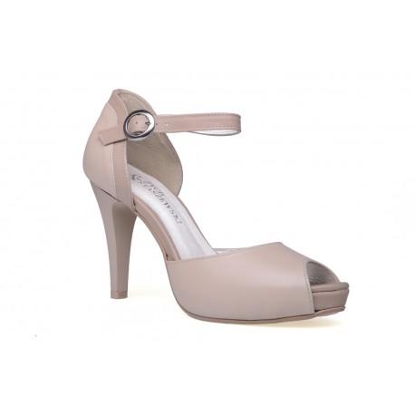 Sandałki na pasek lekkie eleganckie