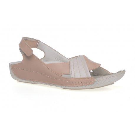 Damskie sandałki sandały na rzepy