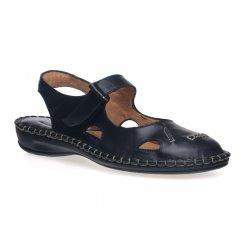 Damskie wygodne sandały skórzane