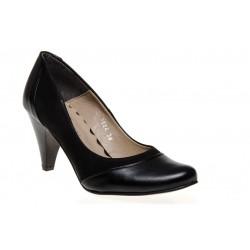 Wygodne eleganckie czarne szpilki