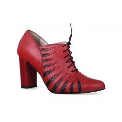 Szpilki buty damskie ze skóry naturalnej