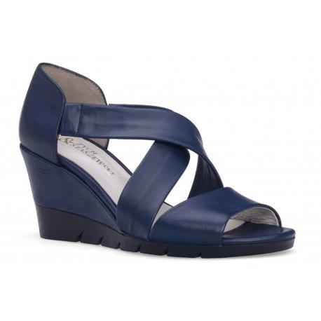 Damskie gustowne skórzane sandały rzymianki