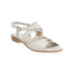 Damskie skórzane sandałki sandały